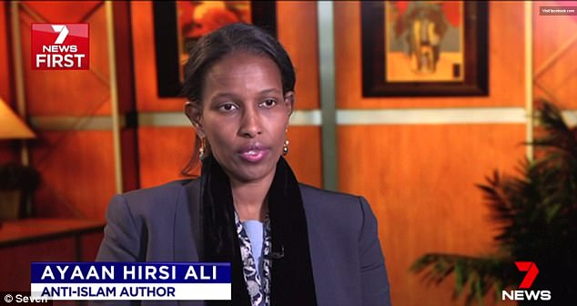 Anti-Islam critic Ayaan Hirsi Ali lavished Tawhidi with praise in a recent interview with Sky News' Andrew Bolt