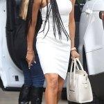 MEL B Stuns In White In Beverly Hills