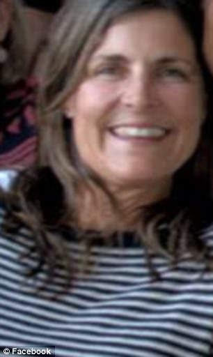 Cathleen Scherer McDonough, 52 (pictured), of Rye, New Hampshire was stabbed to death by a homeless man in the Parisian suburb of Montrieul on Thursday