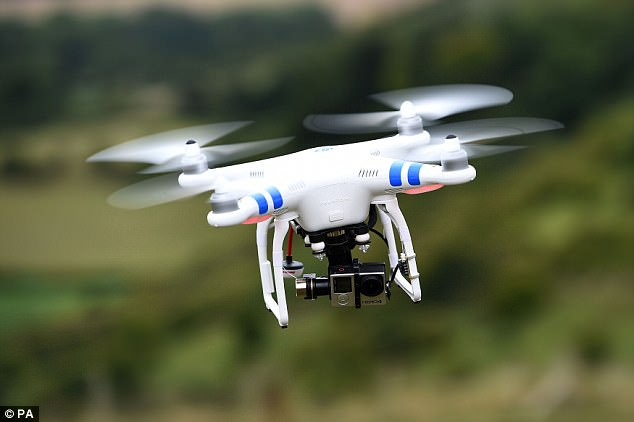 Drones could soon help you shop in Walmart | Daily Mail Online