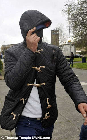 Mohammad Kammer arrives at Kirklee's Magistrates Court