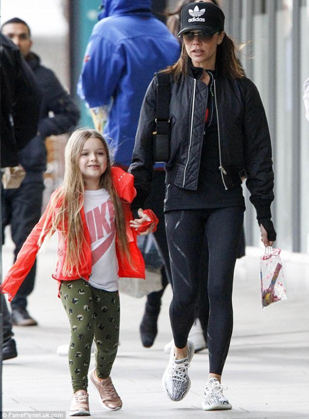 An intellectual property expert said it was unprecedented to trademark a five-year-old's. Oliver Bray, a partner at international law firm RPC, said the move was usually reserved for those who were already celebrities. Above, mother and daughter in west London in March