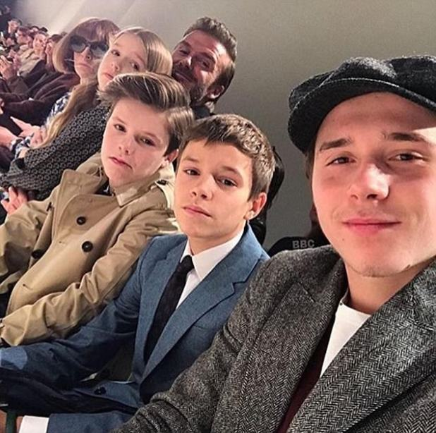 Mrs Beckham has also signed up the names of sons Brooklyn, 18, Romeo, 14, and Cruz, 12, to the UK's Intellectual Property Office and the EU-wide office