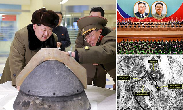 North Korea 'to perform nuclear test to mark Day of Sun'