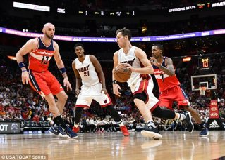 Image result for Miami heat miss out on play-offs despite win over Wizards