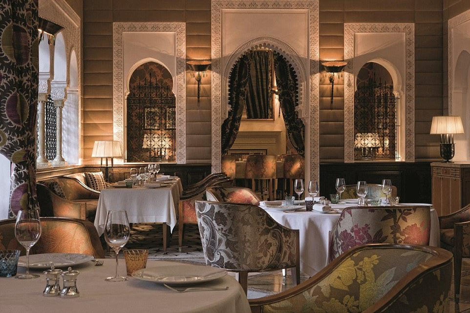 Staff navigate one kilometre's worth of tunnels snaking beneath the lavish property so that service is unrivalled, intuitive and barely seen by guests