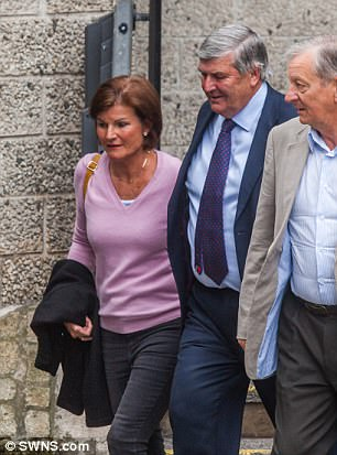 After the brief hearing today his wife Emma released a statement in passionate defence of her husband