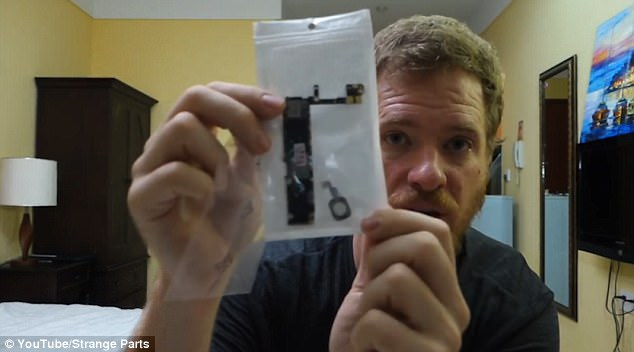 3F39C2EA00000578 4410022 image a 25 1492110148687 - Man creates his own WORKING iPhone out of recycled parts