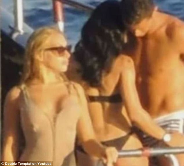 Cristiano Ronaldo enjoyed himself in Ibiza with friends ahead of Portugal's victory at Euro 2016