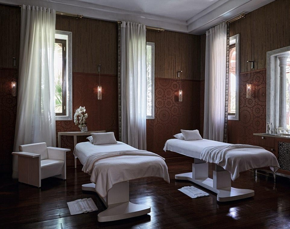 Hotel guests can indulge in the hotel's spa, which features a hammam, or take a daytrip to the Atlas Mountains