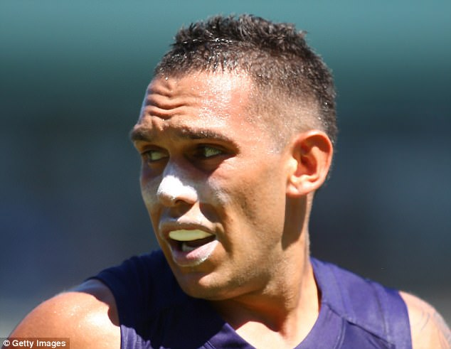 Recruited from Fremantle this offseason, he only played fives games this season and was still in quarantine