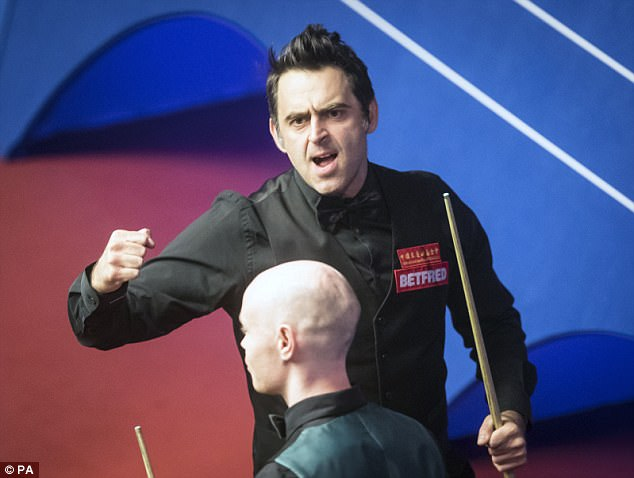 Image result for UK Snooker Championship 2017: Ronnie O'Sullivan recovers to reach quarter-finals