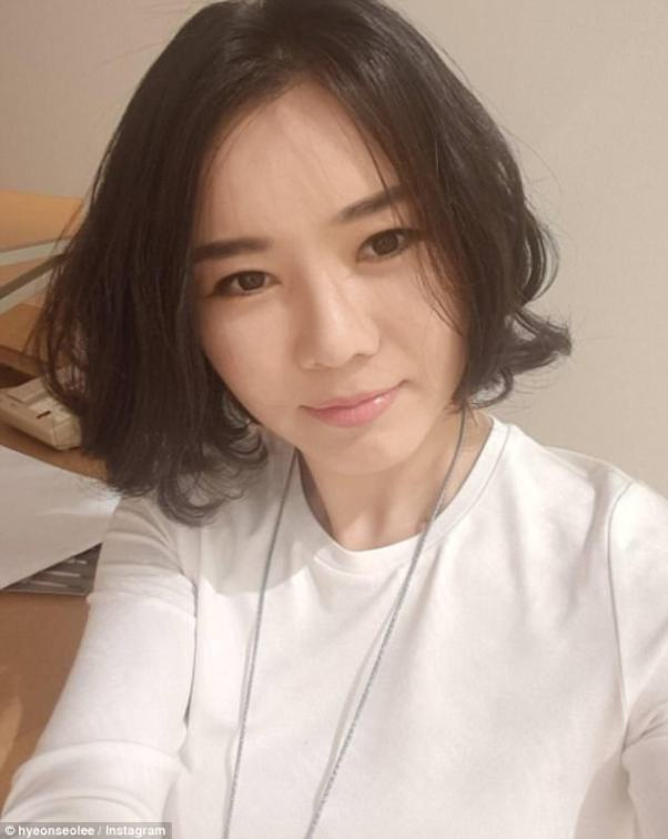Agony: Hyeonseo Lee told MailOnline she has no doubt that the deranged dictator Kim Jong-un will use weapons. 'At the very last minute, when he finds out that he's going to lose all his power he's definitely going to use it. There's a slogan in North Korea which goes: 'America dies, we die, we all die together'.