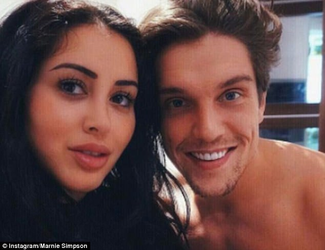 Slammed:The 25-year-old Geordie Shore star split with the former TOWIE cast member earlier this year amid claims he cheated with 'every Tom, Dick and Harry' and she is now adamant she is on the hunt for a new girlfriend rather than boyfriend