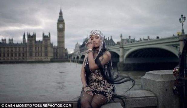 Edit: It had previously been reported that Nicki planned to edit the footage out of her video