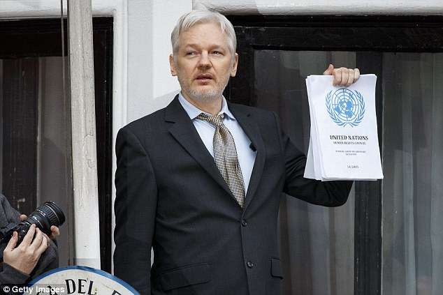 The US government is laying the groundwork for criminal charges to be filed against WikiLeaks founder Jullian Assange (above)