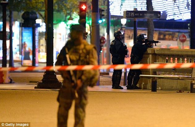 Pierre-Henry Brandet, spokesman for France's Interior Ministry, confirmed that one police officer was dead and two seriously wounded following the 'targeted attack'