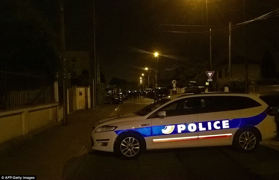 Officers searched the home of the suspected gunman on Thursday evening after they travelled to his home in the east part of the capital