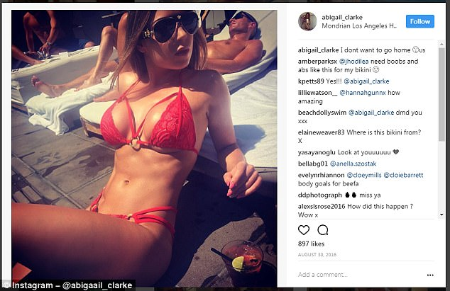 Abigail had to endure cruel taunts about her bloated figure on social media thanks to her IBS