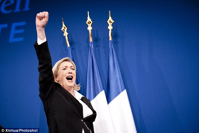 National Front candidate Marine Le Pen. A polarised nation increasingly drawn towards two political extremes now stands on the cusp of the most uncertain and unhappy election in modern French history