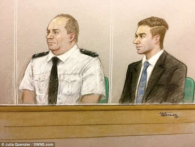 Damon Smith, 20, allegedly packed a rucksack with explosives and deadly ball-bearing shrapnel attached to a £2 clock timed to go off within minutes on the Jubilee Line