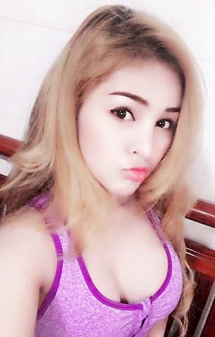 Banned: Kwan said she 'will now try not to be sexy as I usually am when I post on Facebook'