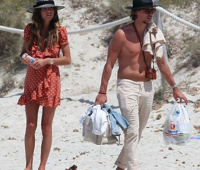 Fun In The Sun Misse Beqiri And Jake Hall Hit The Beach In Ibiza On