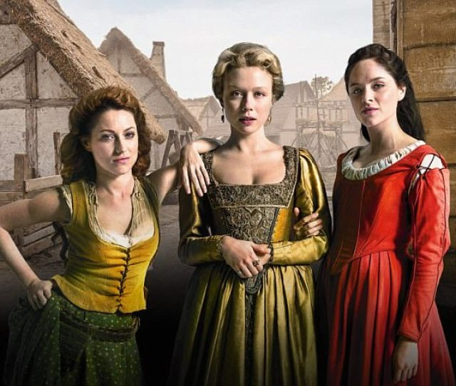 Niamh Walsh Naomi Battrick And Sophie Rundle As Verity Jocelyn And Alice In Jamestown