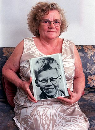 Keith's mother Winnie Johnson. She died in 2012 buried with her son's