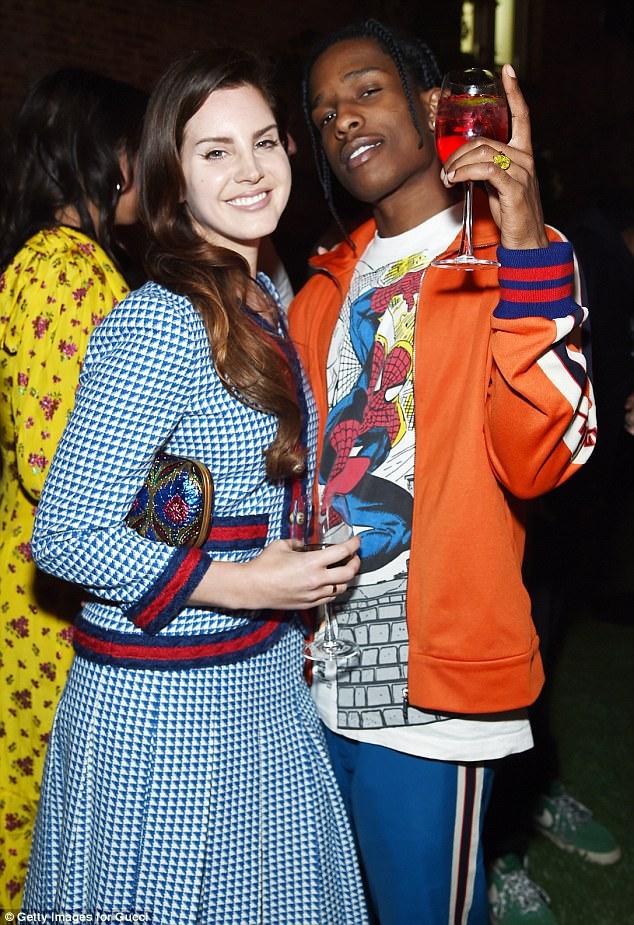 Boyfriend Del Rey Rocky Asap Lana