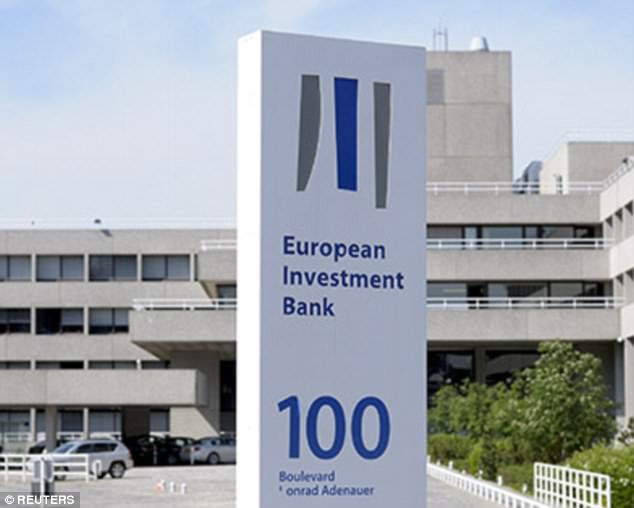 Britain has a 16 per cent share of the £56 billion of the capital in the European Investment Bank – amounting to £9 billion