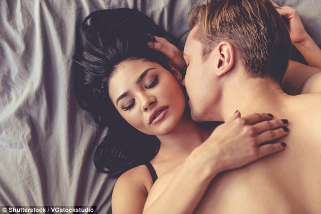 Feeling frisky: Men and women agree that 12 is the 'ideal' number of sexual partners
