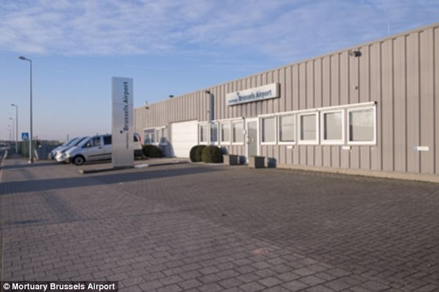 Final flight: Brussels Airport has a funeral parlour with staff on call 24/7
