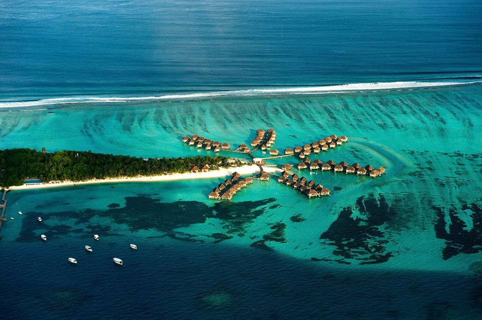 Club Med has recently taken big steps to make sure that a getaway on its resort islands in the Maldives will appeal to those with smaller footprints, too. Its Kani retreat, pictured, now has a Mini Club Med activity club
