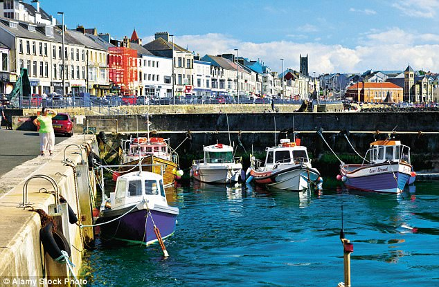 Coast with the most: The colourful waterfront of Portstewart, a small seaside resort in County Londonderry, Northern Ireland