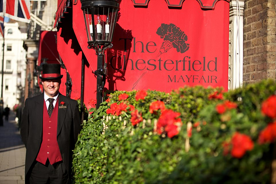 The staff at the Chesterfield are far and away the friendliest people in Mayfair, Fiona stated