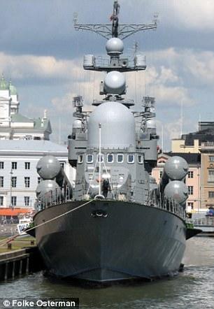 Russian corvette Liven 551