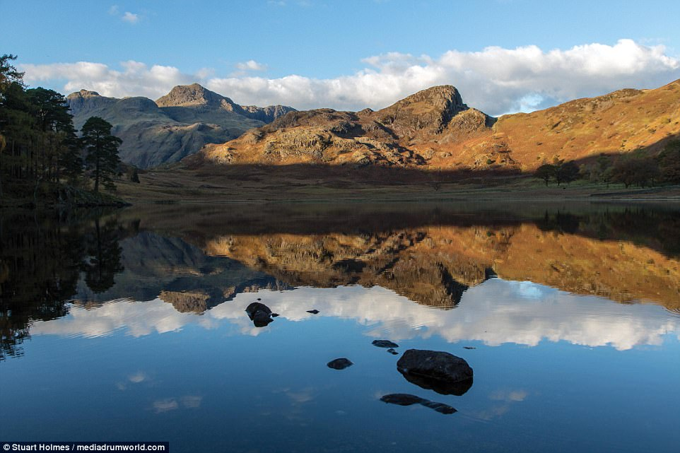 Moment of reflection: Blea Tarn, nestled in Little Langdale, is a must-visit for many. The sediment mountain lake hasn't been disturbed since the last Ice Age and it's a haven for flora and fauna, such as Alpine flowers, brown trout, perch and pike