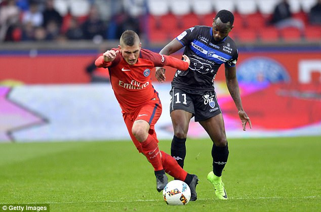 But Verratti insisted that he was happy to keep playing for Paris Saint-Germain