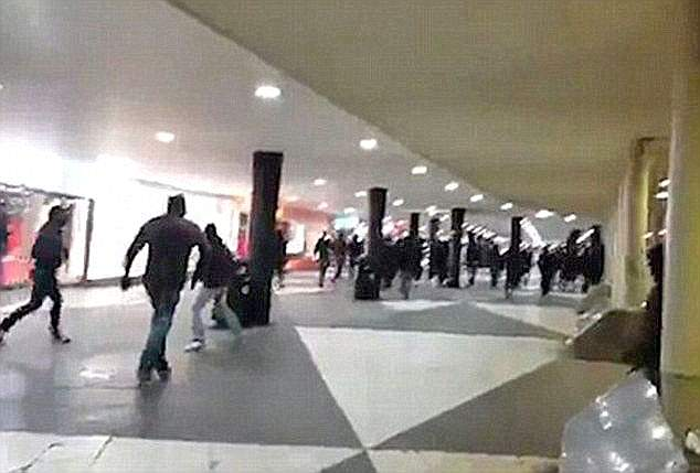 According to Swedish newspaper Aftonbladet there was a violent, unprovoked rampage at Stockholm station by a masked mob of neo-Nazis and football hooligans who were targeting migrants in 2016