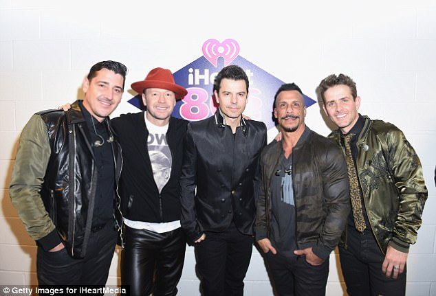 From boys to men: A grown-up New Kids on The Block could be set to tour Down Under in 2018