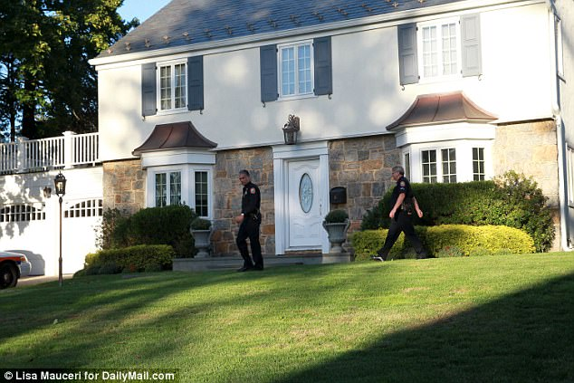 She and her husband lived in a $1.2million home in Manhassaet, Long Island, where they lived with their three children