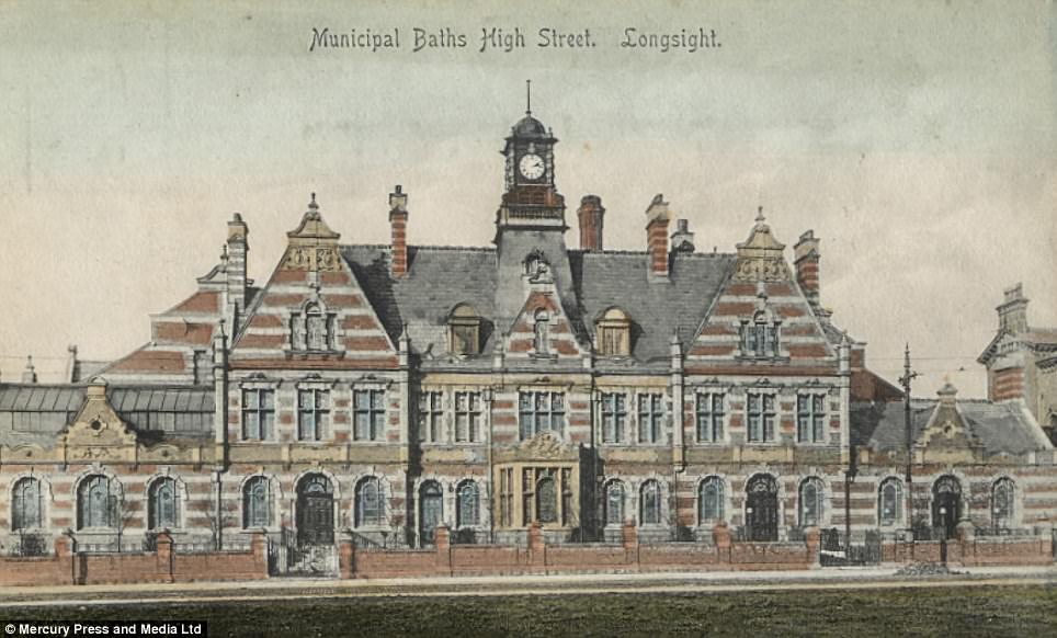 An artist's impression of the building from its origianl hey-day, which dates back to when it was first constructed in 1906