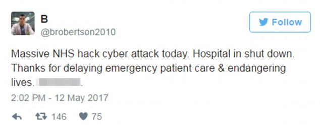 Some hospitals said they were forced to divert emergencies on Friday after a suspected national cyber attack.