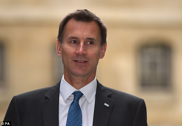 At one point four law firms for NHS agencies – including solicitors for Health Secretary Jeremy Hunt - were involved with Chris' case