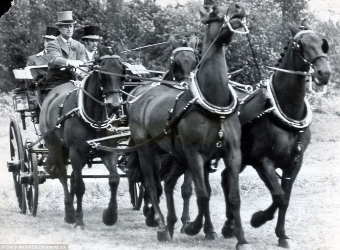 Prince Philip led the partially cultivated Cleveland Berry Queen's team at Home Park Windsor in 1974