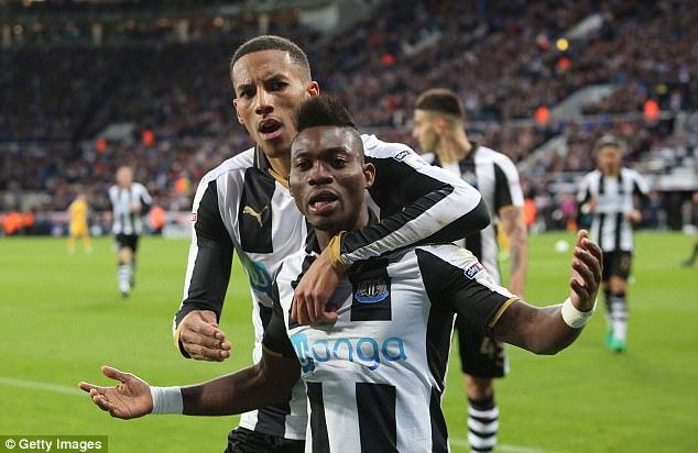 Image result for Christian Atsu Newcastle United