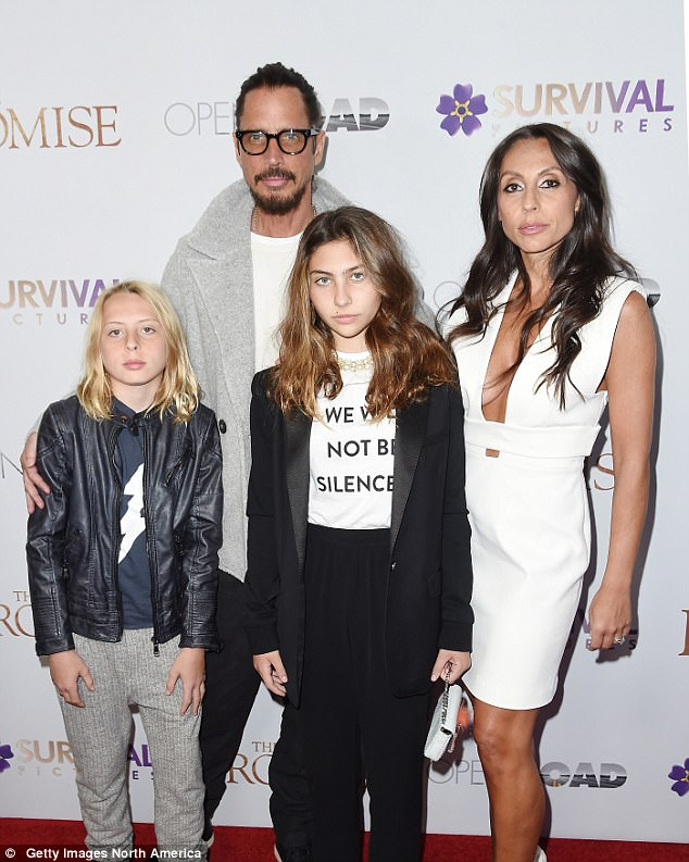 The family also all attended the New York screening of The Promise at the Paris Theatre on April 18 this year