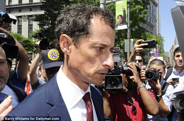 Gaunt: The former Congressman and the US attorney's office finalized the plea deal this week, and Weiner said he would not appeal a sentence of less than 27 months