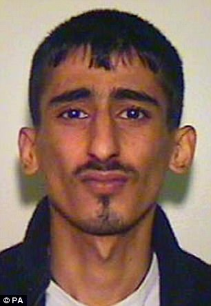 Kabeer Hassan, 30, pictured, served half of his nine-year sentence and is now roaming the streets once again